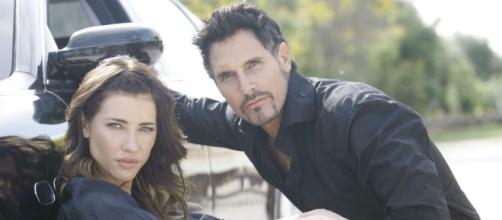 Steffy embraces the dark side and turns to Bill (Image by CBS Soas B&B)
