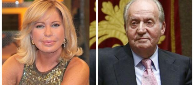 Bárbara Rey y Juan Carlos I en imagen