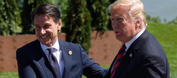 Donald Trump et Giuseppe Conte sont tombés d'accord sur la question de l'immigration.