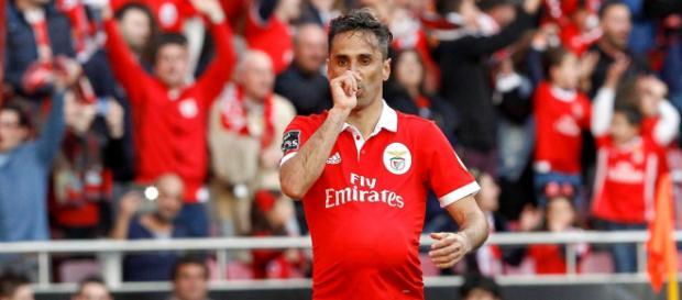 Jonas joga atualmente pelo Benfica