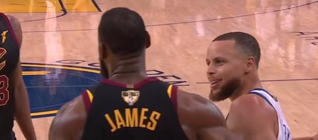 Stephen Curry recently gave his thoughts about what NBA rival LeBron James did in Akron, Ohio. - [ESPN / YouTube screencap]