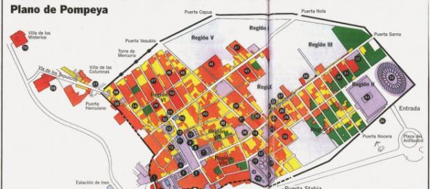 Viajar a Pompeya 2014: Planos de Pompeya - blogspot.com