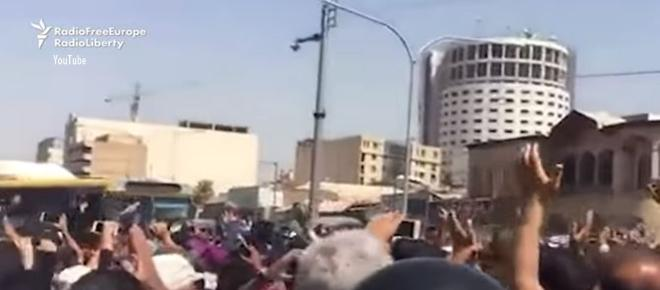 Protests over economy in Iran spread to Shapour and Najaf Abad