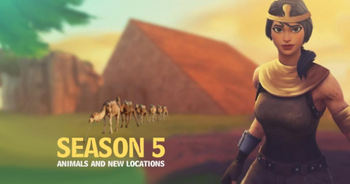 Latest 'Fortnite' leak reveals animals in Season 5