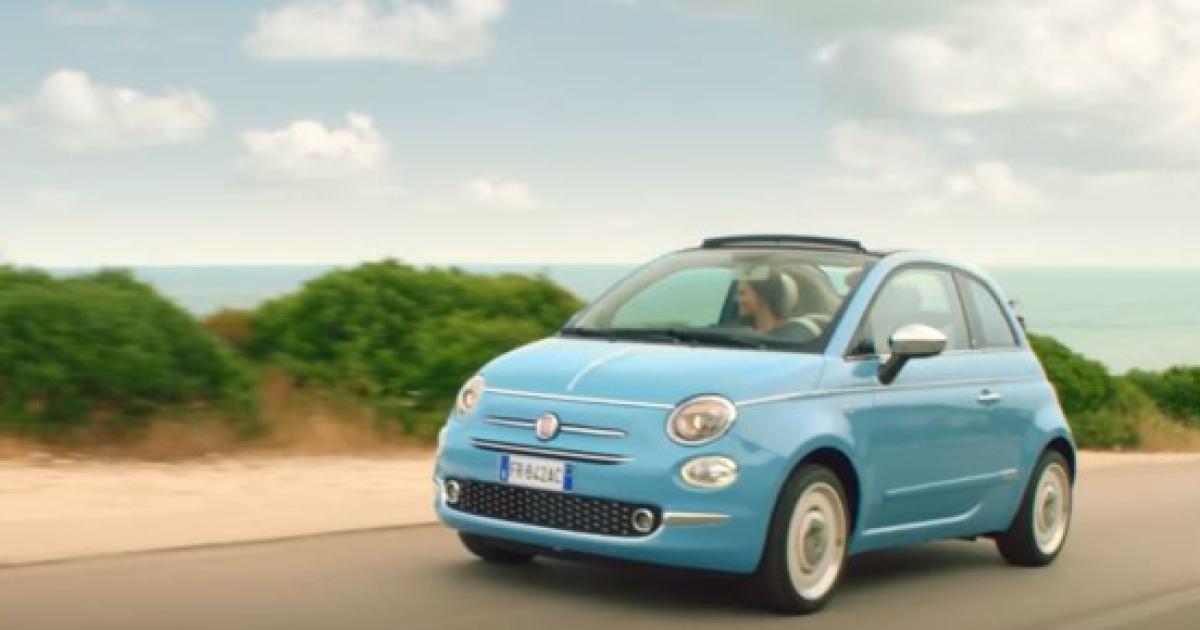 Fiat 500 Spiaggina 58 Celebra La Dolce Vita Uscira In Edizione