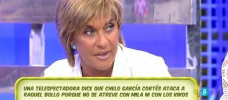 Sálvame: la audiencia critica a Chelo Cortés por no ser educada con sus admiradores