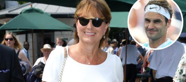 Carole Middleton asistió al torneo de Wimbledon junto a su esposo Michael