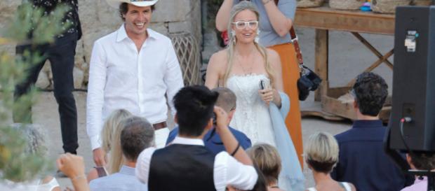 Kimbal Musk y Christiana Wyly se casan en España, y Salma Hayek estuvo entre los invitados