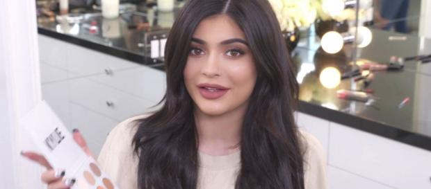 Kylie Jenner's new luxury dog house for her pampered pets is nearing completion. - [Kylie Jenner / YouTube screencap]
