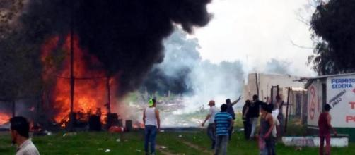 MÉXICO / Dos explosiones de pólvora en Tultepec dejan al menos 19 fallecidos y 40 heridos