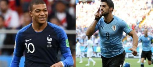 Mbappé e Suarez: la sfida tra Francia ed Uruguay apre il tabellone dei quarti di Russia 2018