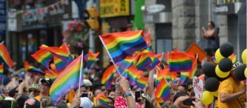 Nella foto una manifestazione di LGBT - fonte della foto: thefederalist.com