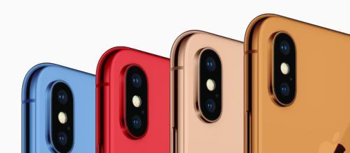 Los iPhone X de 2018 llegarán con más colores como rojo, azul y naranja