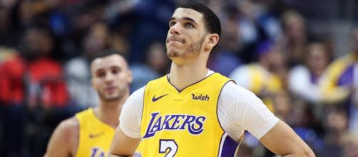There is speculation that Lonzo Ball's camp may have leaked news about his injury.- [Chris Smoove / YouTube screencap]