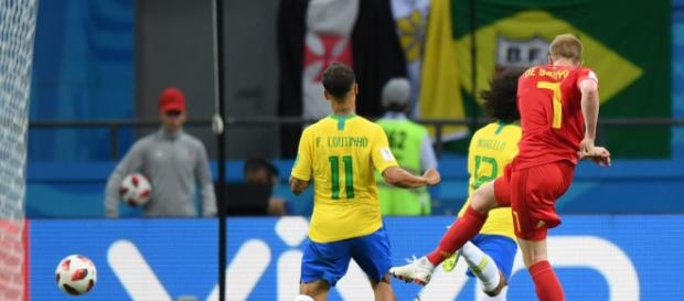 Bélgica elimina a Brasil con un gran partido de Courtois, Hazard y De Bruyne