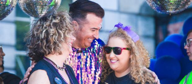 Revellers enjoy Dublin Pride. Image credit: Suppiled by PAVE London use with permissions