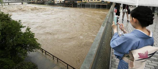 Chuvas fortes no Japão causam 49 mortes e deixam mais de um milhão de desabrigados