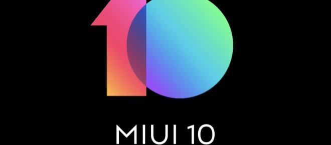 Xiaomi si prepara al rilascio della nuova MIUI 10