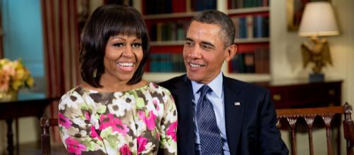 Barack and Michelle Obama (Image courtesy – Pete Souza, Wikimedia Commons)