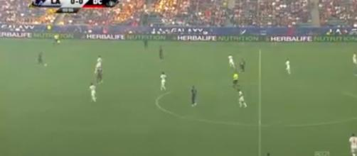 DC United had a rocky start, but equalized late. - [Major League Soccer / YouTube screencap]