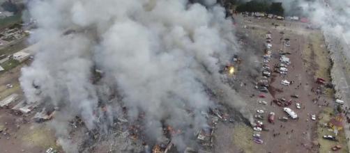 MÉXICO / Una nueva explosión pirotécnica el pasado 5 de julio en Tultepec