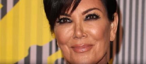 Kris Jenner, Steve Harvey were accused of cheating on the TV host's wife (Photo credit: YouTube Screenshot/The Talko)