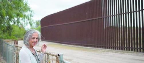 Eloísa Támez y la llave para atravesar el muro fronterizo de México a Estados Unidos