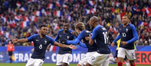 Mondiali 2018 - Quarti di Finale : Francia-Uruguay