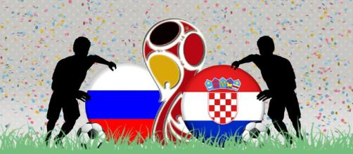 Russia to play against Croatia to reach semi-finals. [Image via: RonnyK/pixabay]