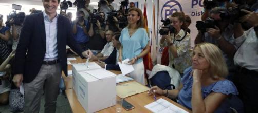 Sáenz de Santamaría y Casado fueron los ganadores que optan a la presidencia del PP