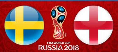 SWEDEN vs. ENGLAND live stream on Sony six (Image Credit: FIFA2018/Twitter)
