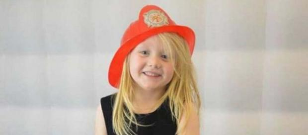 A 16-year-old is in custody relating to the death of Alesha MacPhail, 6. [Image @mrkjdw/Twitter]