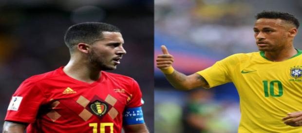 Hazard e Neymar terão duelo à parte