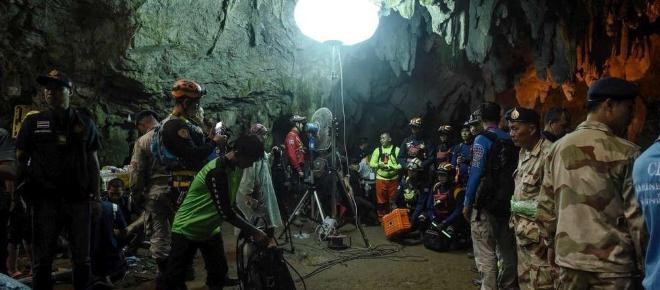 La situation devient compliquée pour les enfants de la grotte en Thaïlande