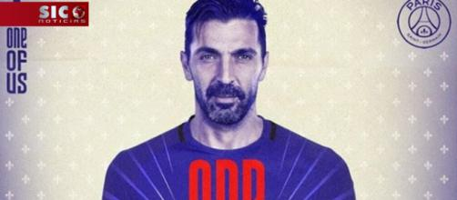 Buffon é o novo reforço do PSG