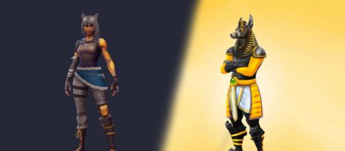 Players have already had a chance to see some cosmetic items that will be released in the season. [Image Credit: Own work]