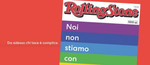 Il manifesto della rivista Rolling Stone contro Matteo Salvini