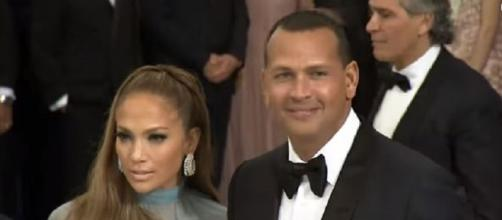Jennifer Lopez was reportedly slammed by Alex Rodriguez's ex-wife, Cynthia Scurtis in a new court document. [Image source: E! News - YouTube]