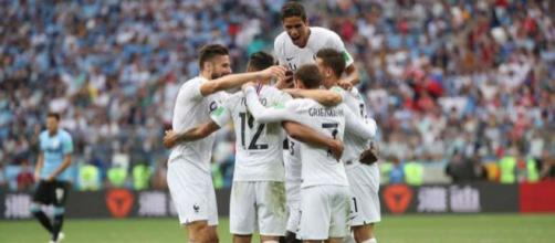 L'Equipe de France passe en demi-finale après avoir vaincu l'Uruguay