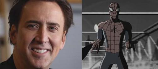 "Nicolas Cage will be the voice of a 1933-era Spider-Man Noir in ""Spider-Man: Into the Spider-Verse."" [Image: ColliderVideos/YouTube]"
