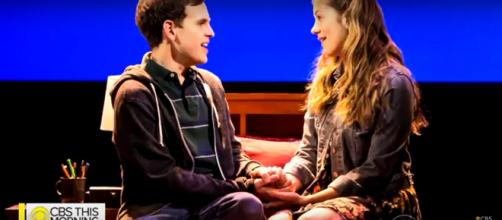 Taylor Trensch now stars as the title character of 'Dear Evan Hansen.' [Image source: CBS This Morning-YouTube]