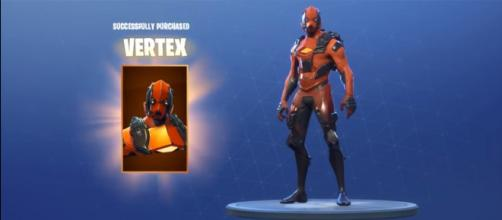 The Vertex outfit in 'Fortnite' Battle Royale - [KobesMind / YouTube screencap]