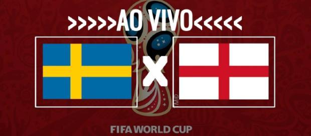 Copa do Mundo: Suécia x Inglaterra