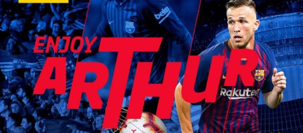 El Barcelona anuncia el fichaje de Arthur Melo