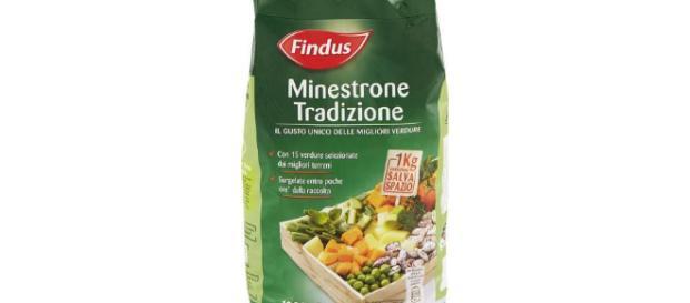 Findus ritira minestrone dagli scaffali: rischio listeria.