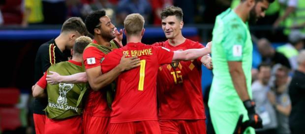 La Belgique est venu à bout du Brésil en le battant 2-1
