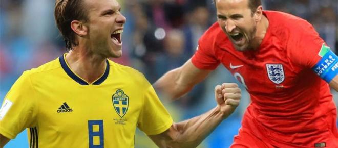 Los ingleses vencen a Suecia y cantan 'It´s coming home'