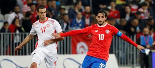 Jogador defendeu a Costa Rica na última Copa do Mundo