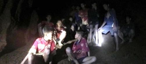 Los niños atrapados en Tailandia