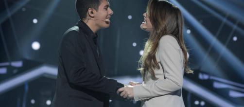 MURCIA / Alfred les dijo a sus fans que el amor entre él y Amaia es más que un beso